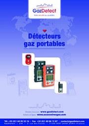 Catalogue détection gaz GazDetect