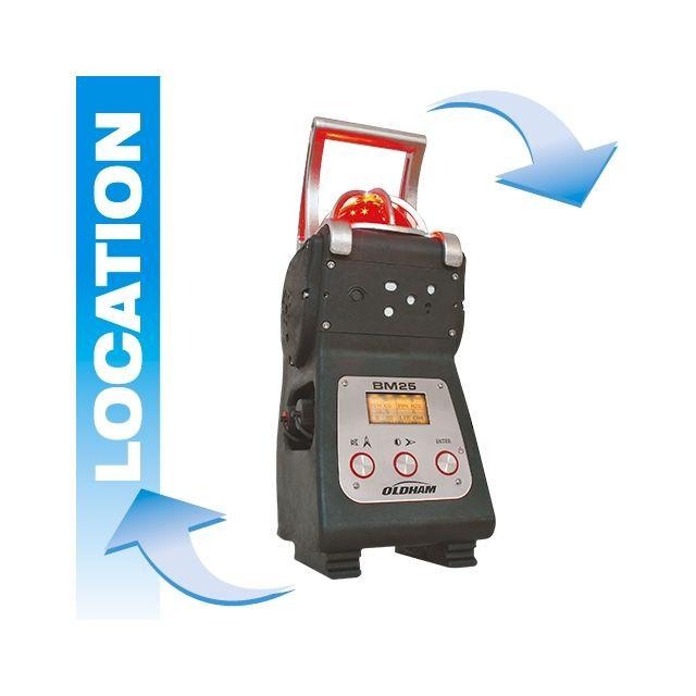 Location BM25 Oldham balise de détection gaz (balise de chantier)