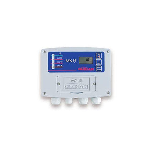 Centrale de détection gaz monovoie MX15 Oldham