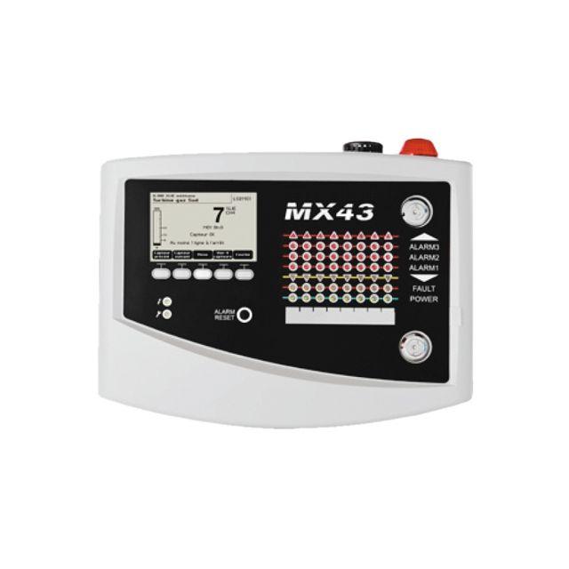 Centrale de détection gaz multivoies MX43 de Oldham avec 4 à 8 lignes de mesure