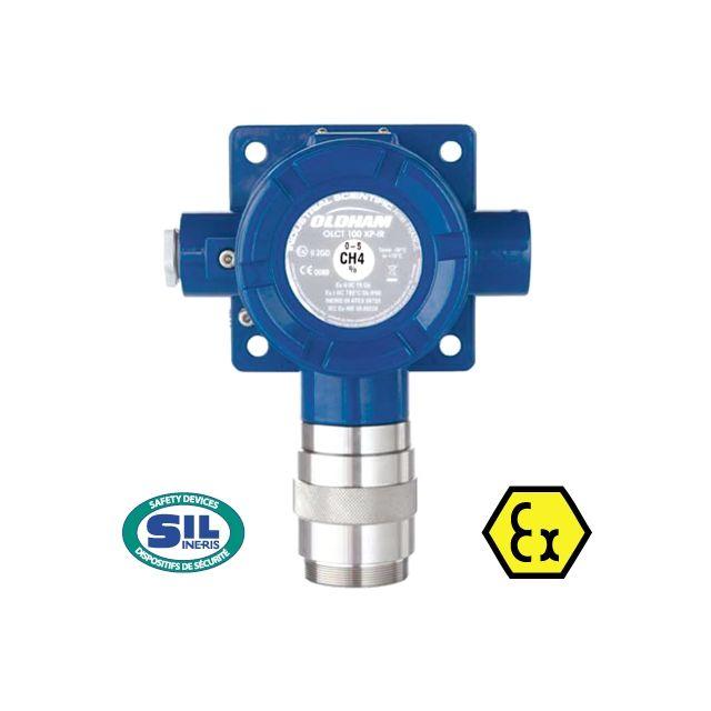 Détecteur de gaz fixe ATEX OLCT100 avec sortie linéaire 4-20 mA de Oldham