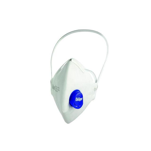 Masque poussière FFP2 avec valve X-plore® 1700 de la marque Dräger