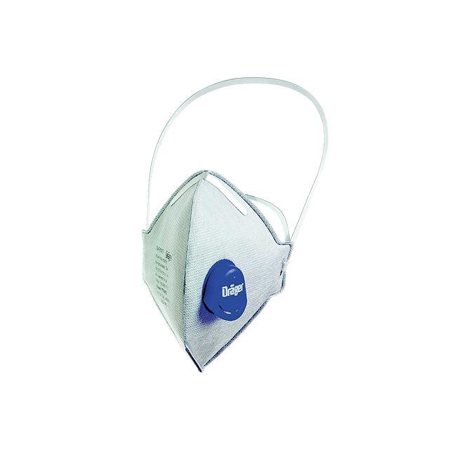 Masque anti-odeur avec valve X-plore® 1700 ODOR de la marque Dräger