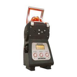 Balise de chantier (balise multigaz de détection gaz) capable de détecter de 1 à 5 gaz (sécurisation d'une zone de travail). BM25