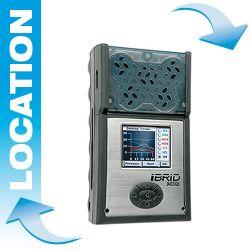 MX6 de Industrial Scientific Location détecteur multigaz (jusqu'à 6 gaz)