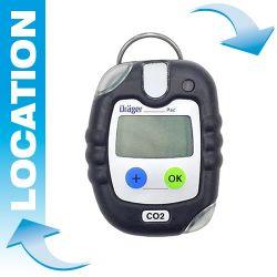 Location détecteur CO2 portable - Pac® 8000