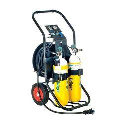 Chariot d'air respirable pour systèmes à adduction d'air PAS AirPack 1 de Dräger