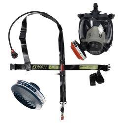 Masque à adduction d'air désamiantage - RAS Amiante de la marque Scott Safety