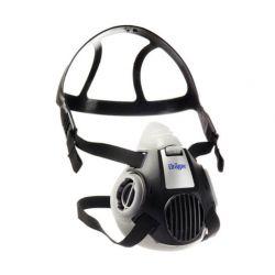Demi-masque bi-cartouche X-plore 3300 de la marque Dräger