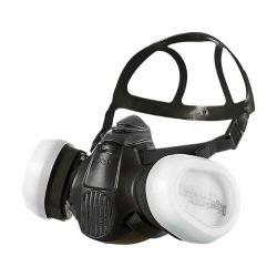 Demi-masque bi-cartouches de protection respiratoire X-plore 3500 de Drager