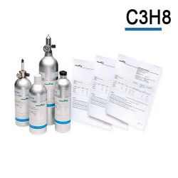 Bouteille gaz étalon Propane C3H8 gaz de calibration Air Products